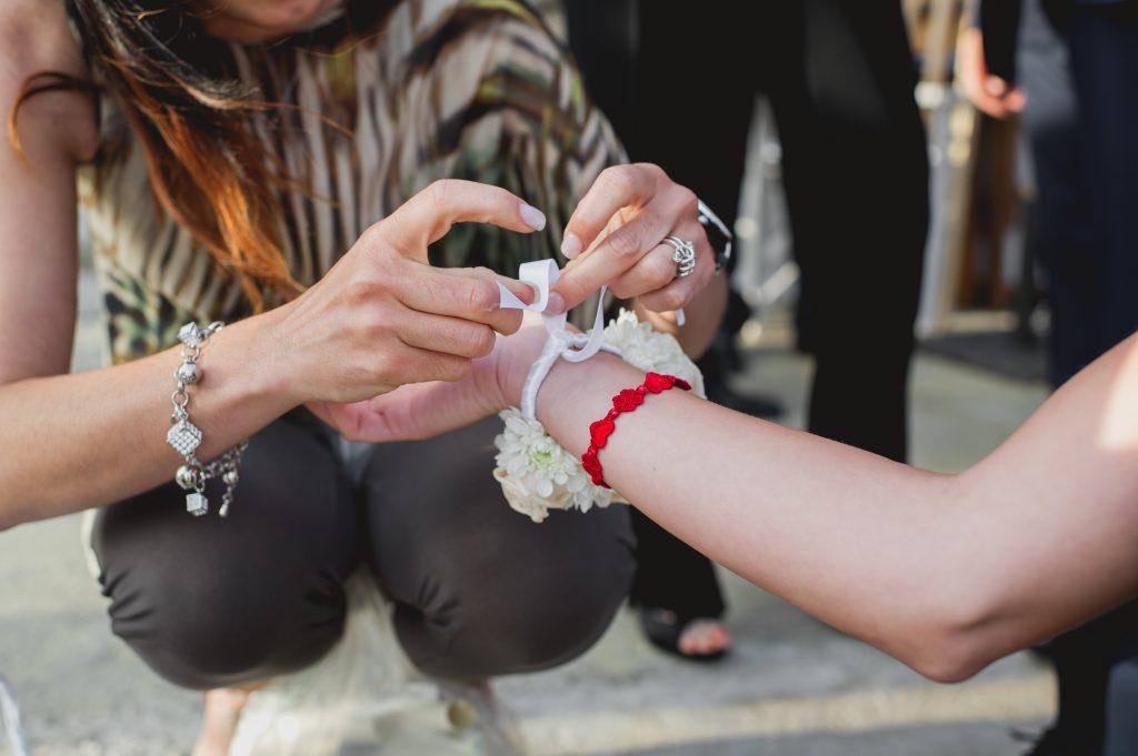 bridal stylist flower